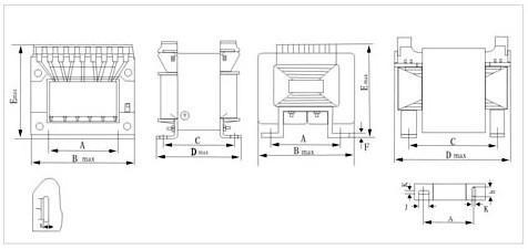 555电子变压器电路图